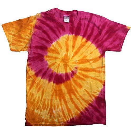 Colortone - Unisex Batik T-Shirt 'Swirl' / Trinidad, L
