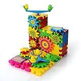 Best Créativité pour les enfants de 1 an Jouets filles - PovKeever 81 PCS Building Set Jouet, Interlocking Blocs Review