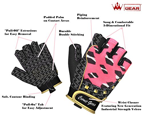 Women-Weightlifting-Gloves-for-Crossfit-Cycle-Gym-Training-Women-Fitness-Workout-Gloves-for-Weight-Lifting-Biking-Exercise-W-Wrist-Closure-Enhance-Your-Grip-and-Eliminate-Blisters-Calluses-1-Year-Repl