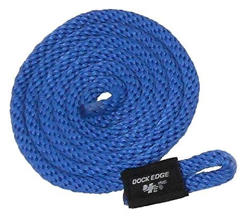 Dock Edge + Dock Fender Line - Blue, 3/8-Inch x 5 ft