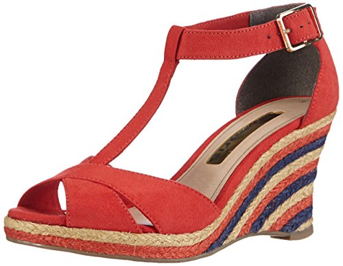 Tamaris 28391, Damen Espadrilles, Mehrfarbig (Chili 533), 41 EU (7.5 Damen UK)