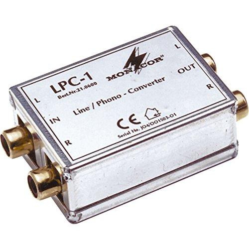 LPC-1 / Line- Phono Converter Cinch Anschlüsse