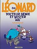 Docteur Génie et Mister Aïe : Léonard ; 34 | Turk (1947-....). Illustrateur