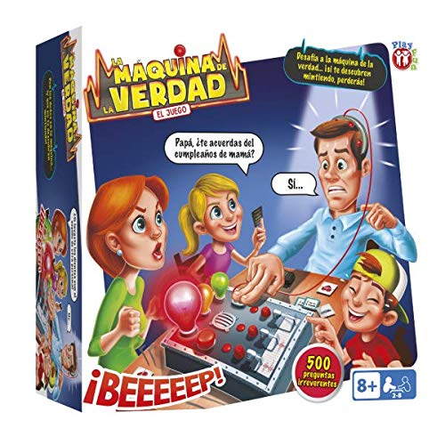 IMC Toys Play Fun la Macchina delle Bugie-Lingua Italiana, 96967IMIT (Lingua Italiana)