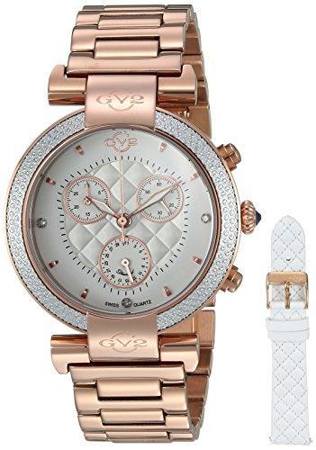 Gevril Reloj con movimiento cuarzo suizo Woman Berletta Chrono 37 mm