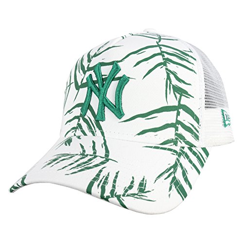 New Era Homme Casquettes / Trucker Sandwash Print NY Yankees Blanc