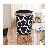 WYZ Haus & Küche Mülleimer - Papierkorb-Haushaltsbadezimmer ohne Deckel Creative European Sanitary Cleaning Bucket (Farbe : C, größe : 6l)