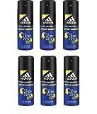 6* Adidas Deospray Deo Bodyspray 150ml A3 Men Sport Energy