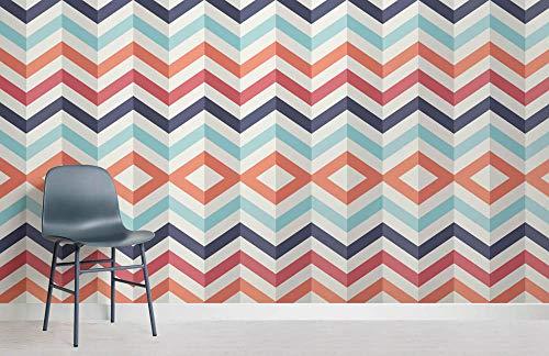 Home Geometrische Tapeten Chevron Wallpaper 3D Chevron Wallpaper Wandgemälde 250x175cm (Chevron Wallpapers)