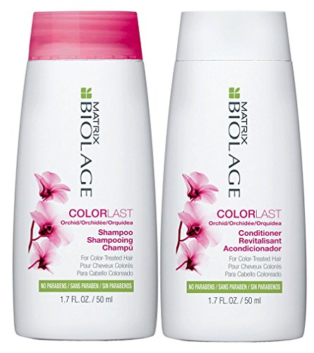 Matrix Biolage Colorlast 1.7oz Shampoo and Conditioner Travel Size Set by Biolage