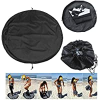 Wood.L Wetsuit Changing Mat Wetsuit Bag,Diving Suit Beach Surfing Swimsuit Clothes Fast Waterproof Storage Cover carefully