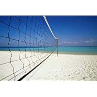 addys-onlinesale Voleibol Red 9,5x 1,0M con cable de acero Beach Voleibol Red de voleibol