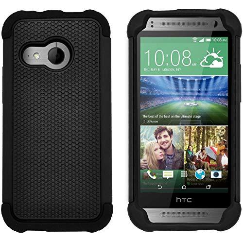 G-Shield Hülle für HTC Mini 2 Stoßfest Schutzhülle - Schwarz