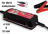 Auto Batterie Ladegerät X-Charger für 6V und 12V für Blei und Gelbatterien 4-stufig