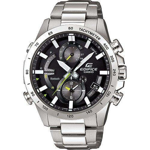 Casio Hommes Analogique Quartz Montre Bracelet en Acier Inoxydable EQB-900D-1AER