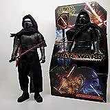 CHENF Star Wars Kylo · Ren Figur Vinyl Modell trendiges Spielzeug, Film Cartoon Puppendekoration, Höhe 33cm -