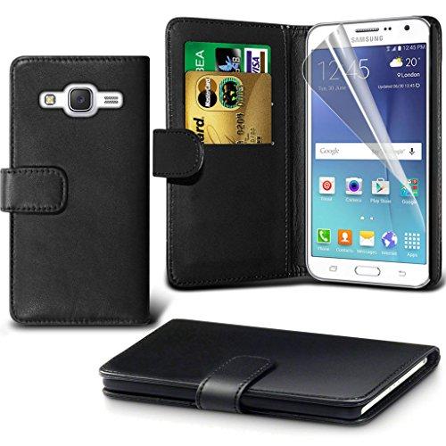 Hülle für Samsung Galaxy J7 / Samsung Galaxy J7 SM-J700F Case Universal Car Phone Halter Halterung Cradle-Dashboard & Windschutz für iPhone yi -Tronixs Wallet ( Blue)