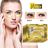 10 paia,Maschera per gli occhi, patch occhi,Maschera d'occhio del collagene, Anti-rughe ed anti-età,Contorno Occhi Occhiaie,Puffiness,per donne e uomini