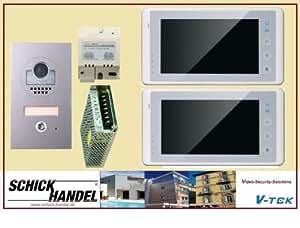 videosprechanlage 2 draht bus dt597 2x dt27 td7 baumarkt. Black Bedroom Furniture Sets. Home Design Ideas