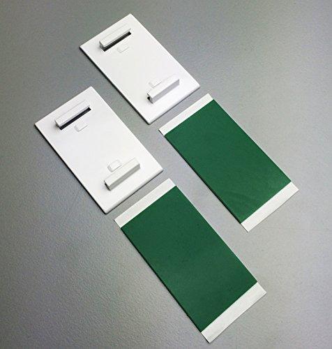 Der Jalousienladen KLEMMFLEX Klemmträger zur Montage ~ MF, BFX25, WFX25 ~ Farbe wählbar