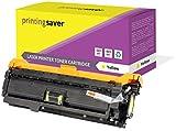 Printing Saver GELB Toner kompatibel für HP Color Laserjet CM3530, CM3530 MFP, CM3530FS MFP, CP3520, CP3525, CP3525DN, CP3525DX, CP3525N, CP3525X, CP3530, CP3530FS drucker