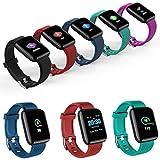Eroihe Inseguitore di Fitness del Braccialetto di Polsino di Sport Impermeabile Impermeabile di Bluetooth Smartwatch