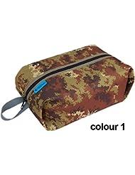 Bazaar Bolsa de almacenamiento de camuflaje selva bolsa de almacenamiento de excursión al aire libre