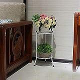 Sue-Supply Flower Herbs Holder European Simple Style Multi-Tier Soporte de Hierro Forjado para balcón Interior