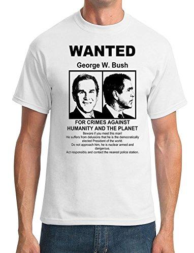 George Bush USA Wanted - Mens T-Shirt