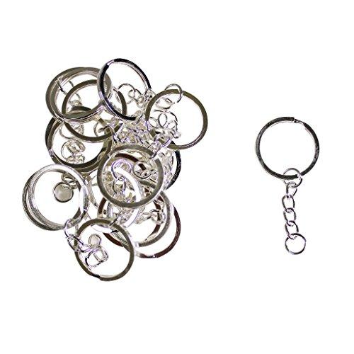 catena-portachiavi-con-anello-a-molla-e-maglie-pacco-da-20-per-artigianato-di-kurtzy-tm