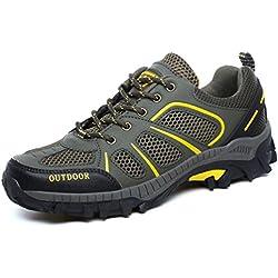 Zapatillas de Trekking Outdoor Walking Travel Zapatos Botas de Montaña Verano Zapatillas de Senderismo para Hombre Mujer EU36-45