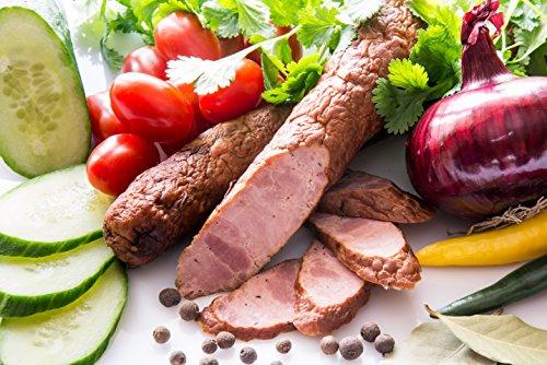 Frische, leckere und exquisite Wurst aus Putenfleisch (magnacka) ugf. 400g Thermisch geschütze...