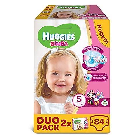 Huggies–Bimba–Windeln–Größe 5(12–18kg)–2x 42Windeln