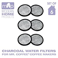 Water Filter Replacement Discs, Replaces Mr. Coffee Wff 3 Water Filter Discs Set Of 6