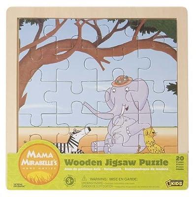 "Wild Republic 86070 National Geographic Kids Entertainment Mama Mirabelle's - Puzzle de 20 piezas diseño ""Cuentacuentos"" de Wild Republic"