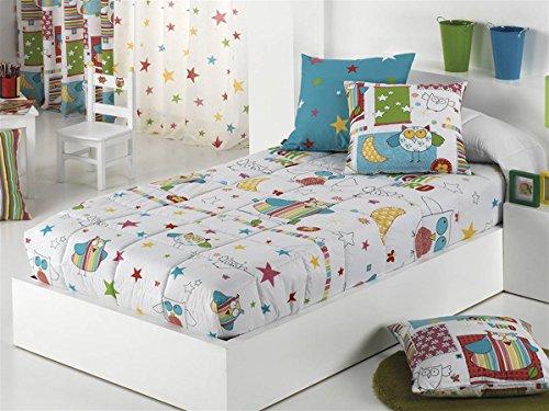 Cañete - Edredón ajustable BIRD cama 90