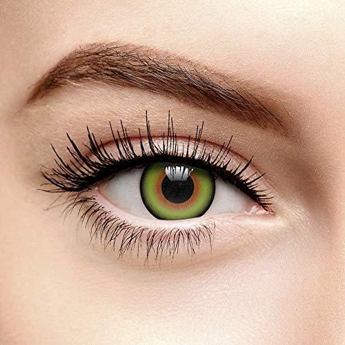 ChromaView Mad Hatter Farbige Kontaktlinsen Ohne Stärke Grün (Tageslinsen)