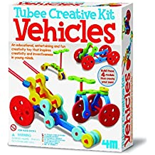 Amazon tubee construct your own tubee vehicles construct your own kit exciting creative easter present negle Gallery