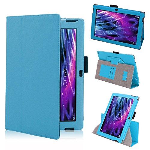 Tasche Hülle für Medion Lifetab S10366 S10365 S10346 Schutzhülle Tablet Cover Case Bag, Farben:Türkis