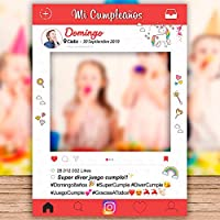 setecientosgramos Photocall Cumpleaños | Ventana Cumpleaños | Marco Cumpleaños | PhotoBooth Cumpleaños (Cartón ...