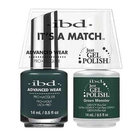 IBD C'est un match à ongles gel, Monstre Vert