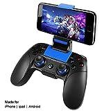 Controlador para iOS, PowerLead Inalámbrico Mando de juego Gamepad Compatibilidad con iOS y Android iPhone...