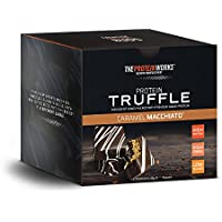 THE PROTEIN WORKS Protein Truffle, Millionaire's Shortbread, Box of 12