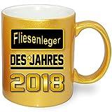 Druck-deine-Tasse Gold Metallic Berufetasse 2018
