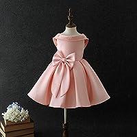 QTONGZHUANG Rückenfreies Kleid Princess rückenfreies Kleid Performance Rock Kleid Rock