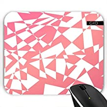 Mousepad - Durcheinander Von Dreiecken In Rot