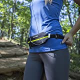 Travel Belt, Zipper Running Belt, Fitness Belt, Adjustable, Neoprene, Waterproof
