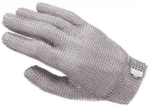 Contacto bander inox gants de protection en cotte de maille seule taille : 4-xL