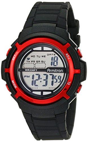 armitron-sport-unisex-45-7045blk-red-accentati-cinturino-in-resina-nera