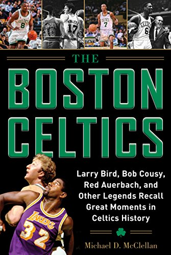 Larry Bird, Bob Cousy, Red Auerbach, and Other Legends Recall Great Moments in Celtics History (Basketball-banner)